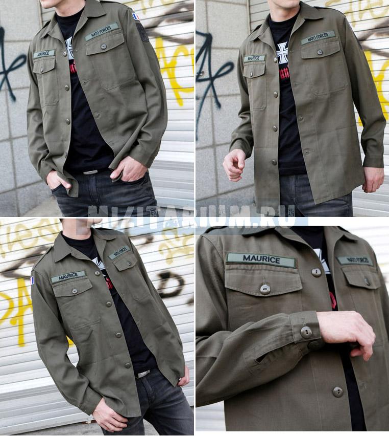 1fab37738be04 Рубашка полевая. Австрия. Рубашки армейские полевые военные Камуфляж ...
