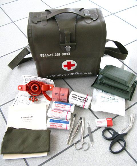Аптечка армейская. Бундесвер. военное снаряжение Камуфляж Военная HC410