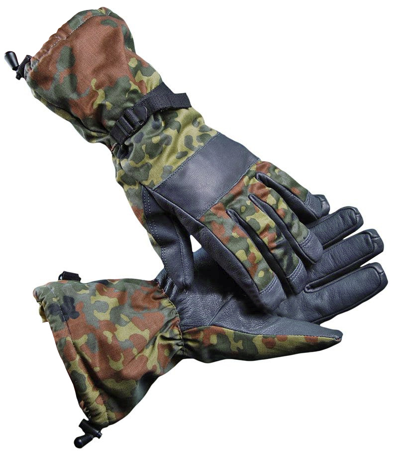 df7433a739d59 Перчатки зимние бундесвер тактические перчатки армейские Камуфляж Военная  одежда и Форма НАТО - Militarium.ru